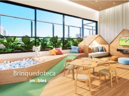 Apartamento à venda em Goiânia no Setor Marista - Empreendimento Ares Marista da Construtora Bambuí - Brinquedoteca