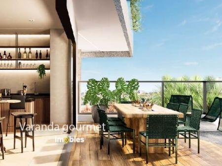 Apartamento à venda em Goiânia no Setor Marista - Empreendimento Ares Marista da Construtora Bambuí - Varanda Gourmet