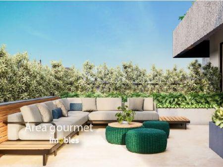 Apartamento à venda em Goiânia no Setor Marista - Empreendimento Ares Marista da Construtora Bambuí - Área Gourmet
