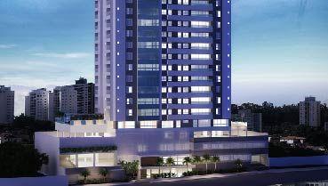 Apartamento à venda em Goiânia no Setor Marista - Empreendimento Cena Marista da Construtora Brasal - Fachada