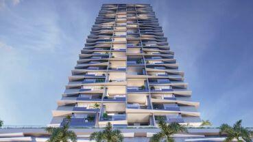 Apartamento à venda em Goiânia no Setor Marista - Empreendimento Azure Compact Life da Construtora City - Fachada (Card)