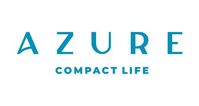 Logo do edifício Azure Compact Life, construtora City