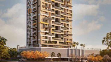Apartamento à venda em Goiânia no Jardim Goiás - Empreendimento Emirates Parque Flamboyant da Construtora Sousa Andrade - Fachada (Card)