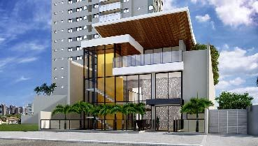 Apartamento à venda em Goiânia no Setor Bueno - Empreendimento Cenarium da Construtora GPL - Fachada