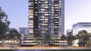 Apartamento à venda em Goiânia no Setor Pedro Ludovico - Empreendimento Urbani Vista Home da Construtora ACCE - Fachada (Card)