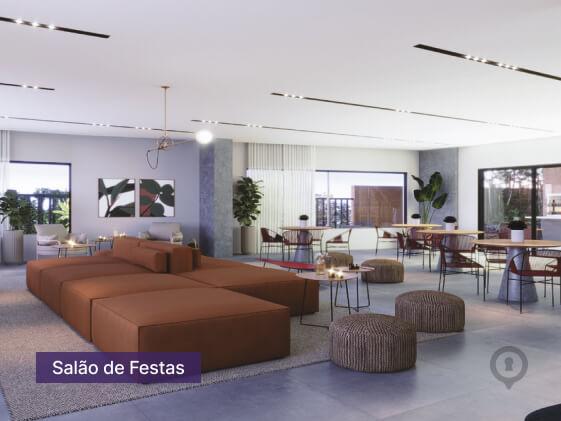 Apartamento à venda em Goiânia no Setor Oeste - Empreendimento Lina Praça do Sol da Construtora FR Incorporadora - Área de Lazer-4