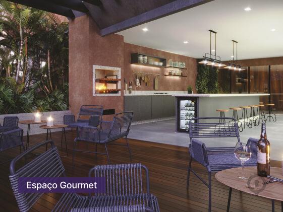 Apartamento à venda em Goiânia no Setor Oeste - Empreendimento Lina Praça do Sol da Construtora FR Incorporadora - Área de Lazer-5
