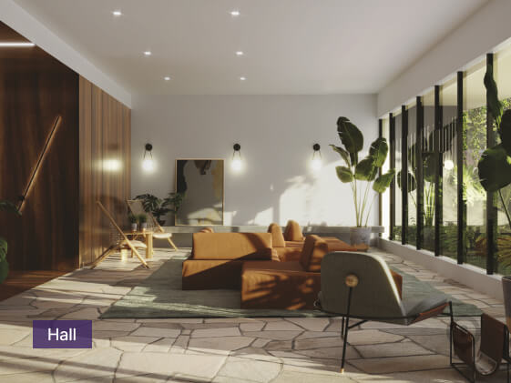 Apartamento à venda em Goiânia no Setor Oeste - Empreendimento Lina Praça do Sol da Construtora FR Incorporadora - Área de Lazer-2