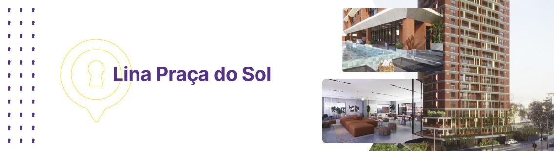 Apartamento à venda em Goiânia no Setor Oeste - Empreendimento Lina Praça do Sol da Construtora FR Incorporadora - Fachada (Capa Desktop)