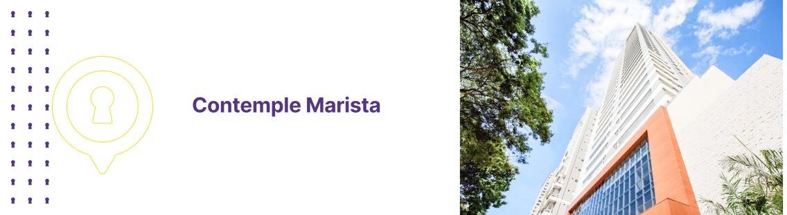 Apartamento à venda em Goiânia no Contemple Marista - Fachada (Capa Desktop)