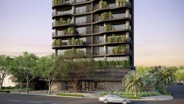 Apartamento à venda em Goiânia no Setor Oeste - Empreendimento Opus Sunna, da Opus construtora - Fachada