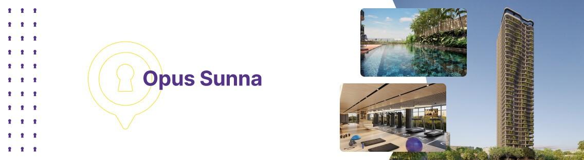 Apartamento à venda em Goiânia no Setor Oeste - Empreendimento Opus Sunna - Fachada