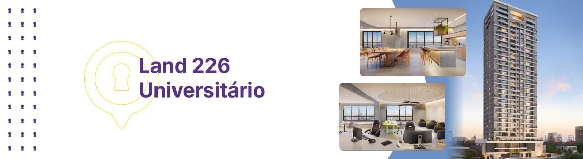 Apartamento à venda em Goiânia no Setor Universitário - Empreendimento Land 226 Universitário da Construtora Terral - Fachada