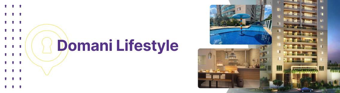 Apartamento à venda em Goiânia no Domani Lifestyle - Fachada (Capa Desktop)