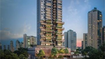 Apartamento à venda em Goiânia no Setor Bueno - Empreendimento Casa Brasileira da Construtora Consciente - Fachada