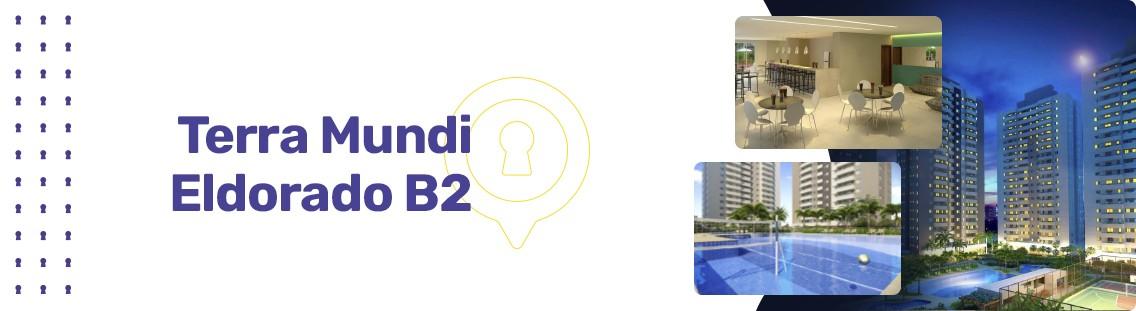 Apartamento à venda em Goiânia no Residencial Granville - Empreendimento Terra Mundi Eldorado - B2 da Construtora New Inc - Fachada