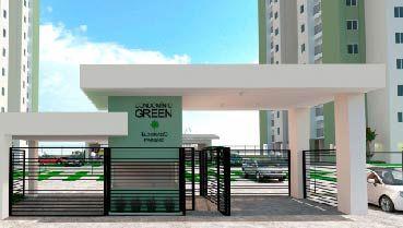 Apartamento à venda em Goiânia no Parque Oeste Industrial - Empreendimento Eldorado Parque - Green da Construtora Eldorado Parque - Fachada