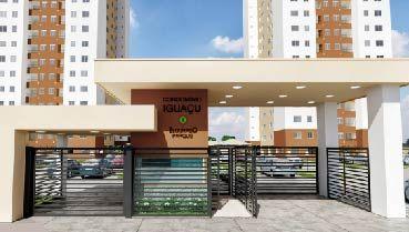 Apartamento à venda em Goiânia no Parque Oeste Industrial - Empreendimento Eldorado Parque - Iguaçu da Construtora Eldorado Parque - Fachada