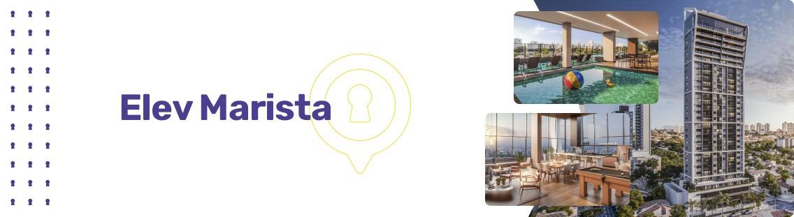 Apartamento à venda em Goiânia no Setor Marista - Empreendimento Elev Marista da Construtora Partini - Fachada