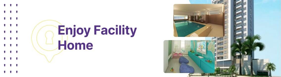 Apartamento à venda em Goiânia no Setor Bueno - Empreendimento Enjoy Facility Home da Construtora Época - Fachada