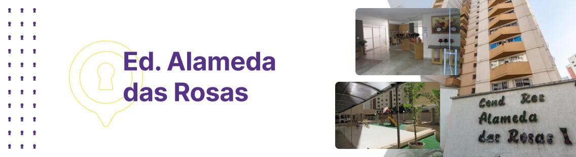 Apartamento à venda em Goiânia no Condomínio Edifício Alameda das Rosas - Fachada (Capa Desktop)