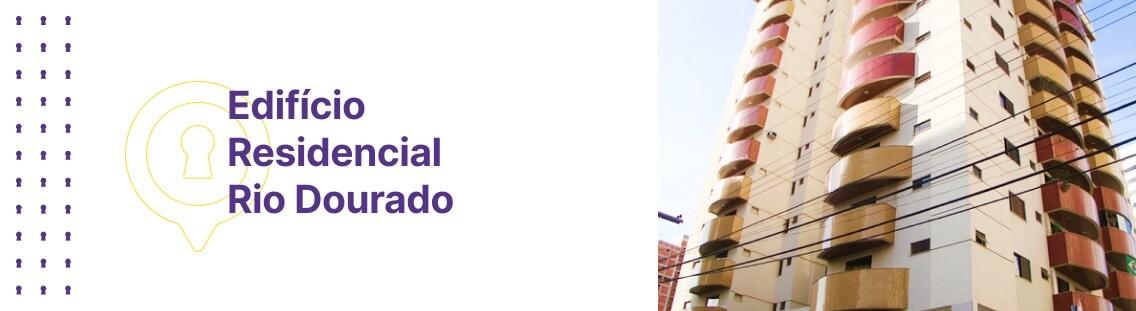 Apartamento à venda em Goiânia no Residencial Rio Dourado - Fachada (Capa Desktop)