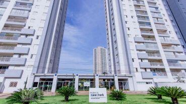 Apartamento à venda em Goiânia no New Park Residencial Clube - Fachada (Card)
