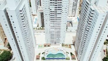 Apartamento à venda em Goiânia no Flampark Residential Club - Fachada (Card)