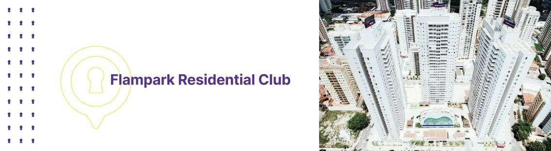 Apartamento à venda em Goiânia no Flampark Residential Club - Fachada (Capa Desktop)
