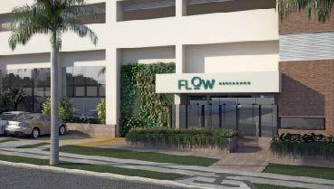 Apartamento à venda em Goiânia no Setor Leste Universitário - Empreendimento Flow Residence da Construtora Tapajós - Fachada