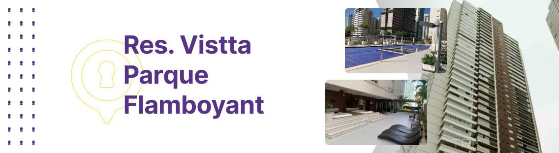 Apartamento à venda em Goiânia no Residencial Vistta Parque Flamboyant - Fachada (Capa Desktop)