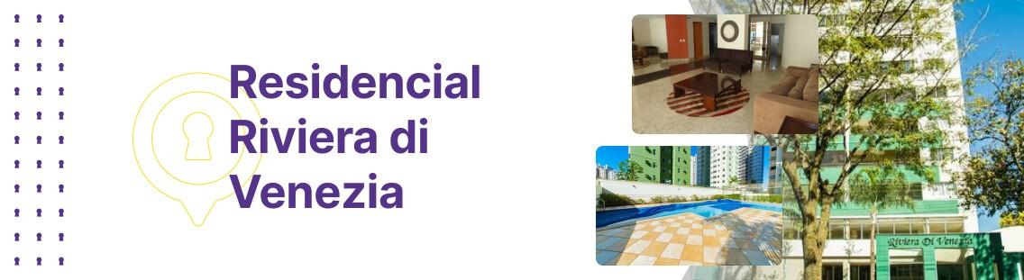 Apartamento à venda em Goiânia no Residencial Riviera di Venezia - Fachada (Capa Desktop)