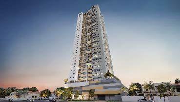 Apartamento à venda em Goiânia no Setor Bueno - Empreendimento Full Bueno da Construtora Terral - Fachada