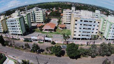 Apartamento à venda em Goiânia no Residencial Parque Flamboyant - Empreendimento Grandaso da Construtora Sim Engenharia - Fachada