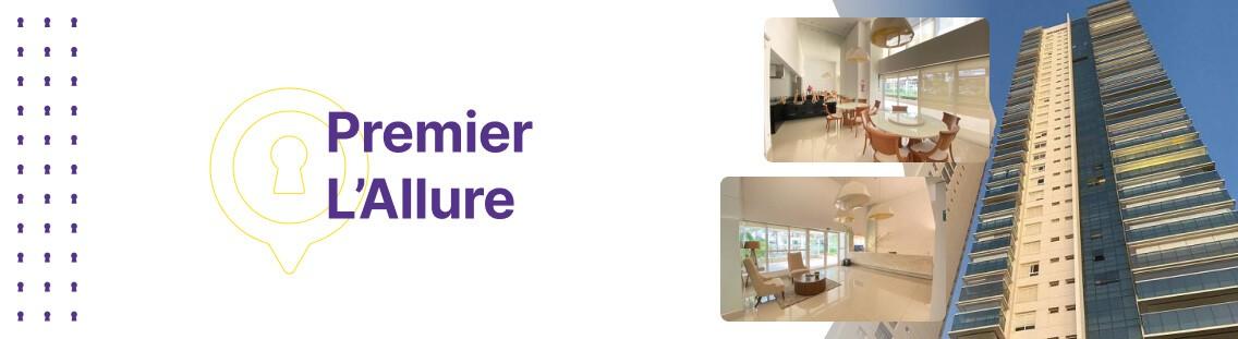Apartamento à venda em Goiânia no Premier L'Allure - Fachada (Capa Desktop)