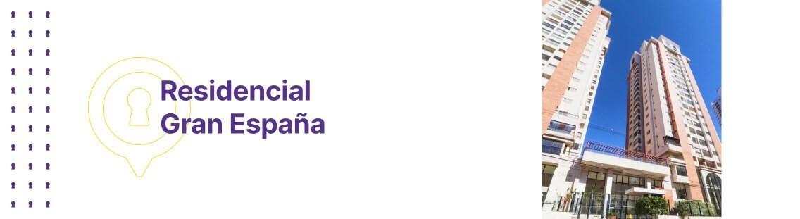 Apartamento à venda em Goiânia no Residencial Gran España - Fachada (Capa Desktop)