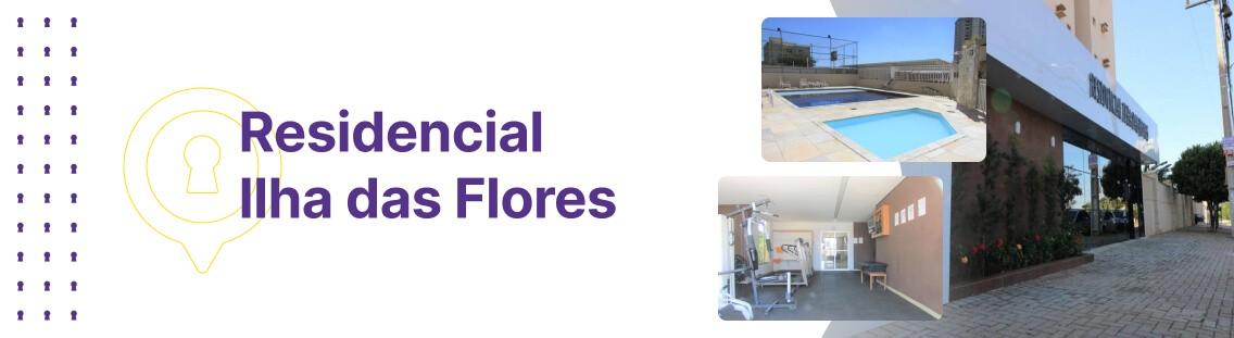 Apartamento à venda em Goiânia no Residencial Ilha das Flores - Fachada (Capa Desktop)