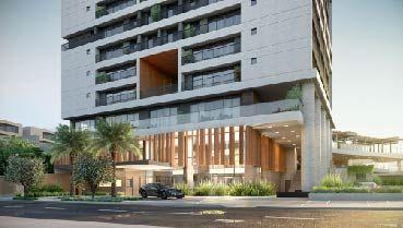 Apartamento à venda em Goiânia no Setor Oeste - Empreendimento ID Vida Urbana da Construtora FR Incorporadora - Fachada