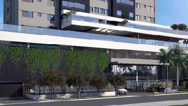 Apartamento à venda em Goiânia no Jardim América - Empreendimento Jardim Bueno da Construtora FR Incorporadora - Fachada