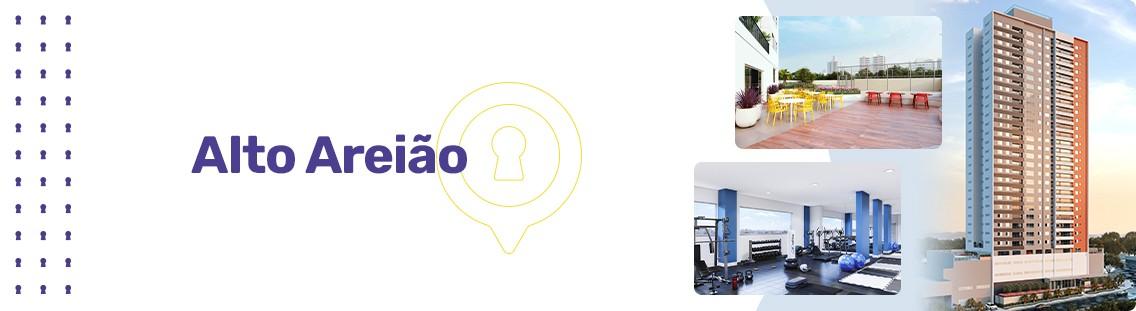 Apartamento à venda em Goiânia no Setor Pedro Ludovico - Empreendimento Alto Areião da Construtora CMO - Fachada