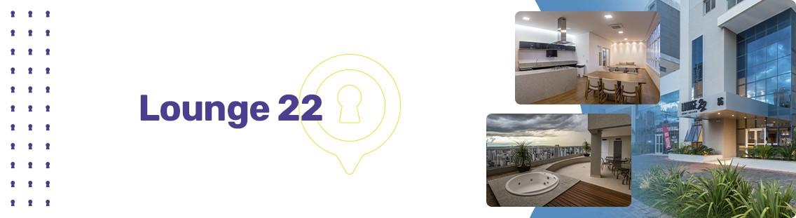 Apartamento à venda em Goiânia no Setor Oeste - Empreendimento Lounge 22 da Construtora Enec - Fachada