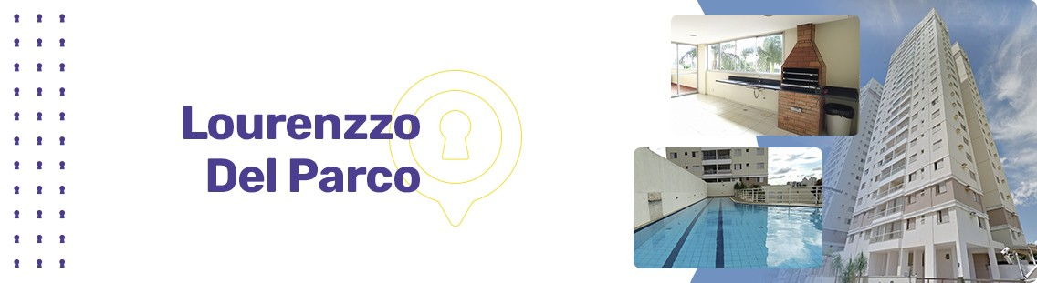 Apartamento à venda em Goiânia no Parque Amazônia - Empreendimento Lourenzzo Del Parco da Construtora LIC Incorporadora - Fachada