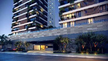 Apartamento à venda em Goiânia no Setor Marista - Empreendimento Lumina da Construtora Opus - Fachada