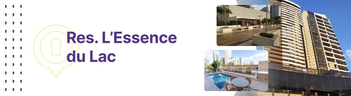 Apartamento à venda em Goiânia no Residencial Lessence du Lac - Fachada (Capa Desktop)