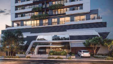 Apartamento à venda em Goiânia no Setor Marista - Empreendimento Mio Marista da Construtora Terral - Fachada