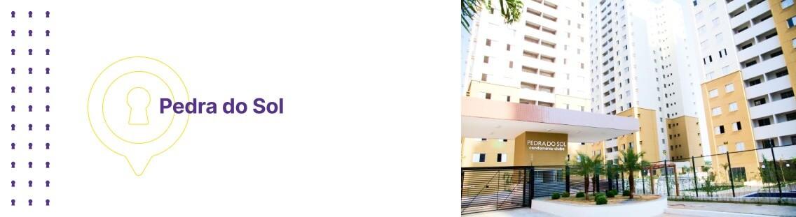 Apartamento à venda em Goiânia no Residencial Pedra do Sol - Fachada (Capa Desktop)