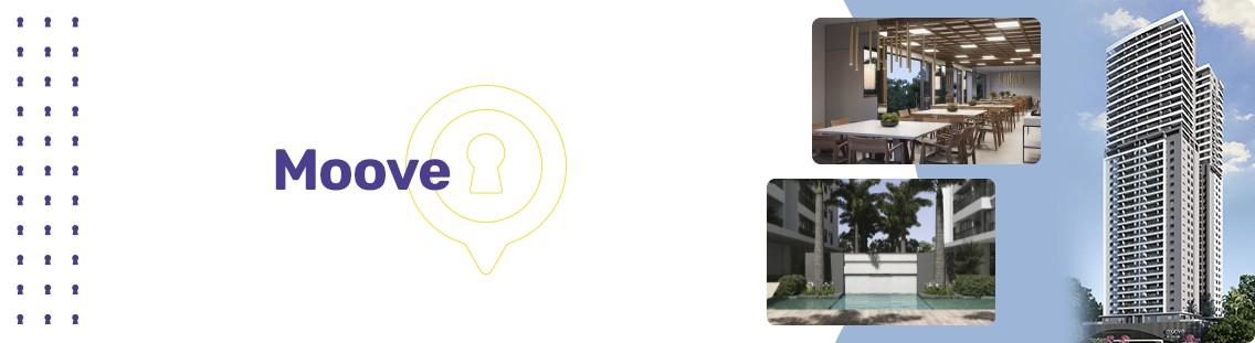 Apartamento à venda em Goiânia no Setor Bueno - Empreendimento Moove da Construtora Brasal - Fachada