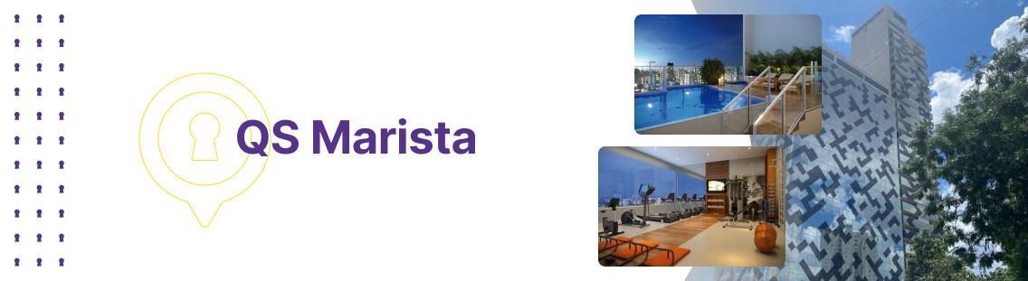Apartamento à venda em Goiânia no QS Marista - Fachada (Capa Desktop)
