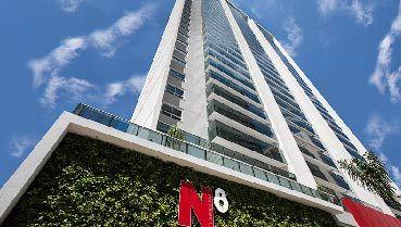 Apartamento à venda em Goiânia no Alto da Glória - Empreendimento N8 Flamboyant da Construtora HSI - Fachada