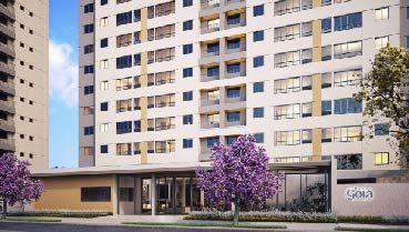 Apartamento à venda em Goiânia no Parque Santa Rita - Empreendimento Parque Goiá da Construtora FR Incorporadora - Fachada